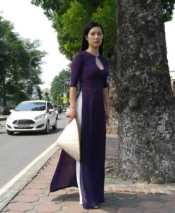 chiffon-ao-dai-diamond-neck-purple