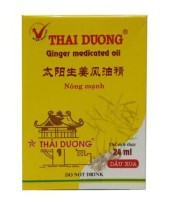ginger medicated oil rheumatism cold headache