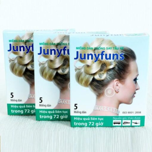 Junyfuns Herbal Patch Motion Sickness 3