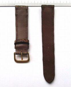 Chocolate-brown-crocodile-strap-20-mm