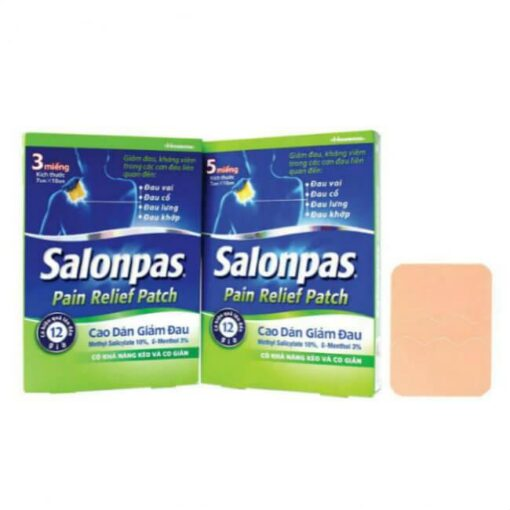 Salonpas Hisamitsu Stretchable Pain Relief Patch