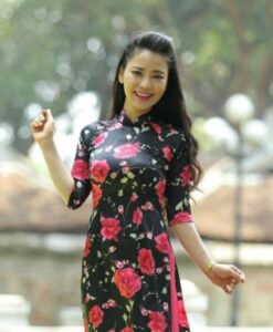 Ao Dai Custom Made Black