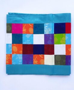Vietnam Natural Silk Worm Table Cloth Blue