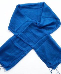 Women ScarfNatural Silkworm Van Phuc Silk