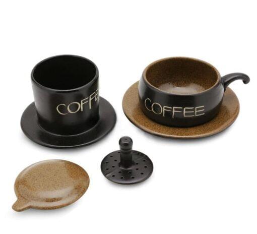 Chocolate Coffee Filter Bat Trang 2