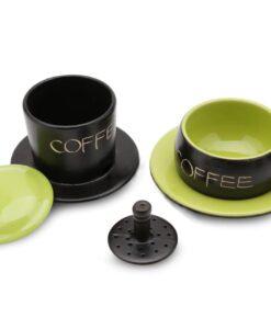 Green Gravity Ceramic Coffee Filter Bat Trang 2