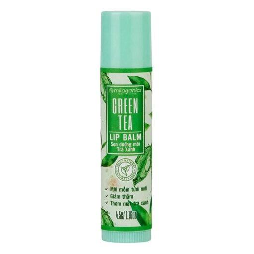 Milaganics Lip Balm Green 2