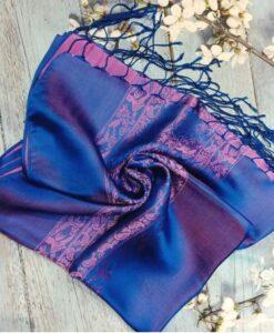 Vanphuc Traditional Natural Silkworm Women Scarves