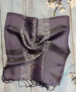 Warm Grey Silkworm Women Scarves
