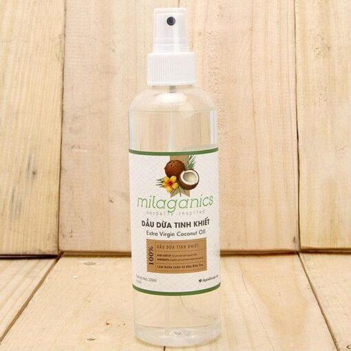 Milaganics Coconut Oil 2