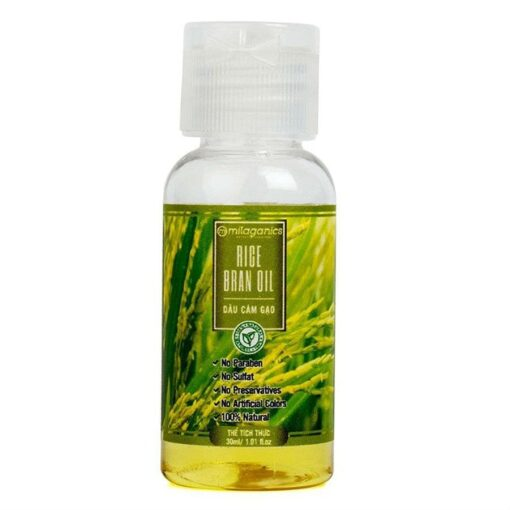 Milaganics Rice Bran Oil