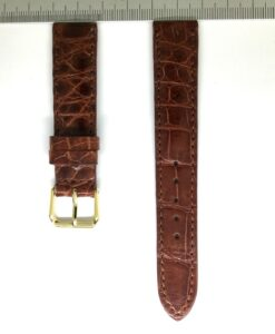 Wrist Watch Strap Crocodile 18mm